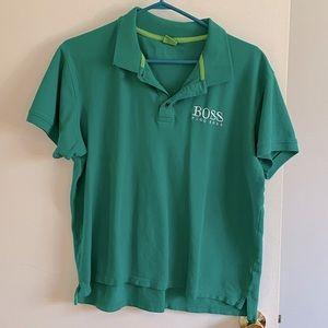 BOSS Hugo Boss Green Polo Shirt